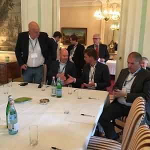 B2B Event - Retrospective Challenges for Service desks and Contact centers now and in the future. Organized at the residency of the Italian Ambassador in The Hague (The Netherlands)