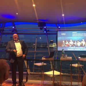 Retrospective B2B Event: Agile IT Service Management, Stefan Habitzreuther, Managing Director of USU